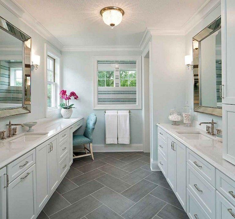 45+ Admirable Farmhouse Master Bathroom Remodel Ideas ...
