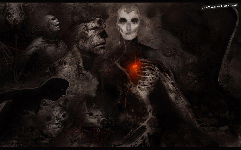 Evil Wallpapers Gothic Wallpaper Art Dark Art