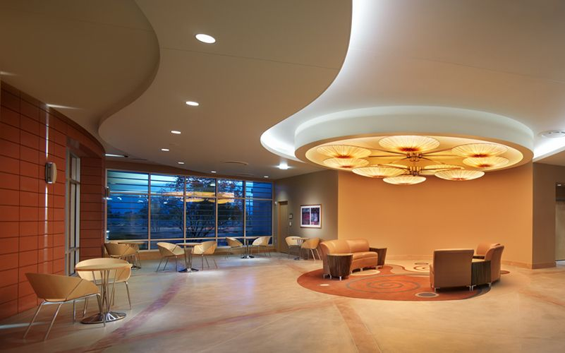 Nice Curve Dropped Ceiling With Cove Lighting Healthcare Center Cove Lighting Healthcare Design Dropped Ceiling