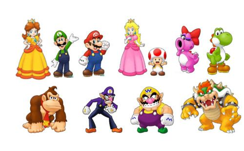 Mario Characters Photo Main Mario Characters Mario Characters Character Design Animation Game Character