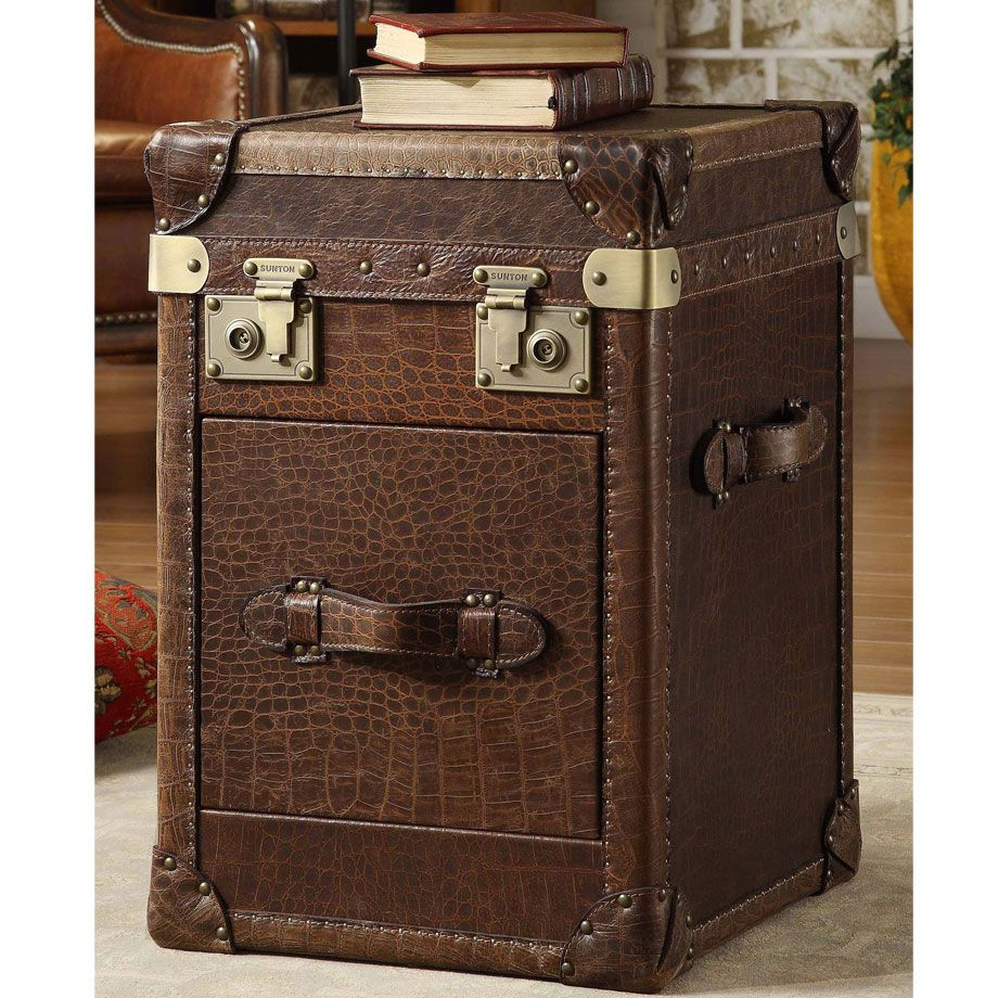 Tuesday Morning Categories Leather Vintage Suitcases Sofa End Tables