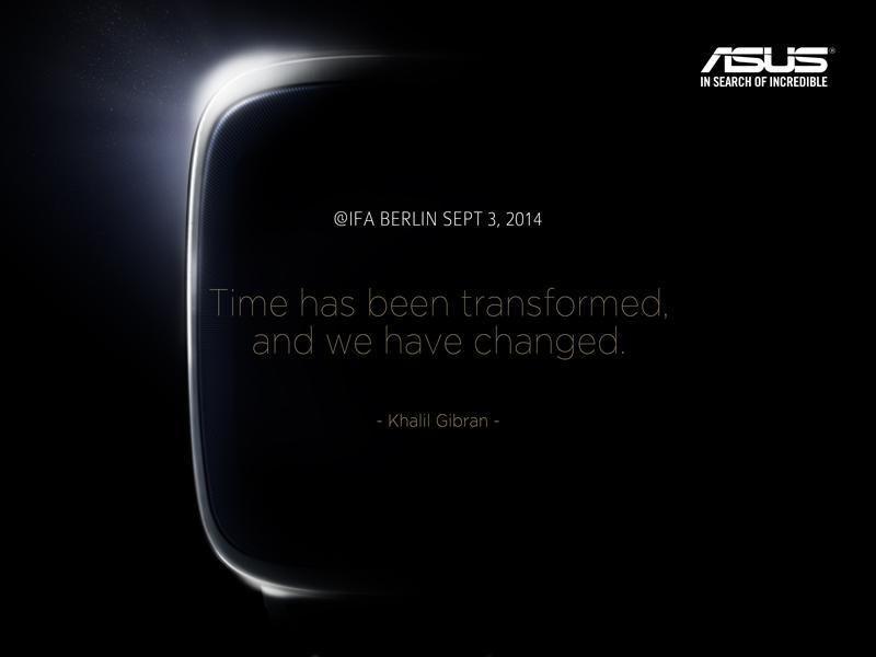 Asus teasert Smartwatch für die IFA an