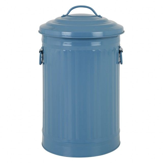 ALTO Blue kitchen bin 32L | Buy now at Habitat UK