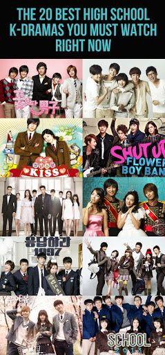 The 20 Best High School K Dramas You Must Watch Right Now High School Fun Kdrama Korean Drama