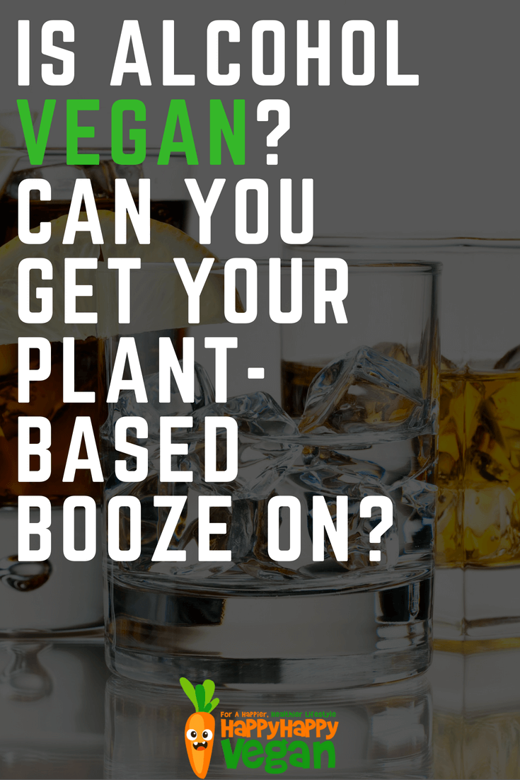 can i have alcohol on plant based diet