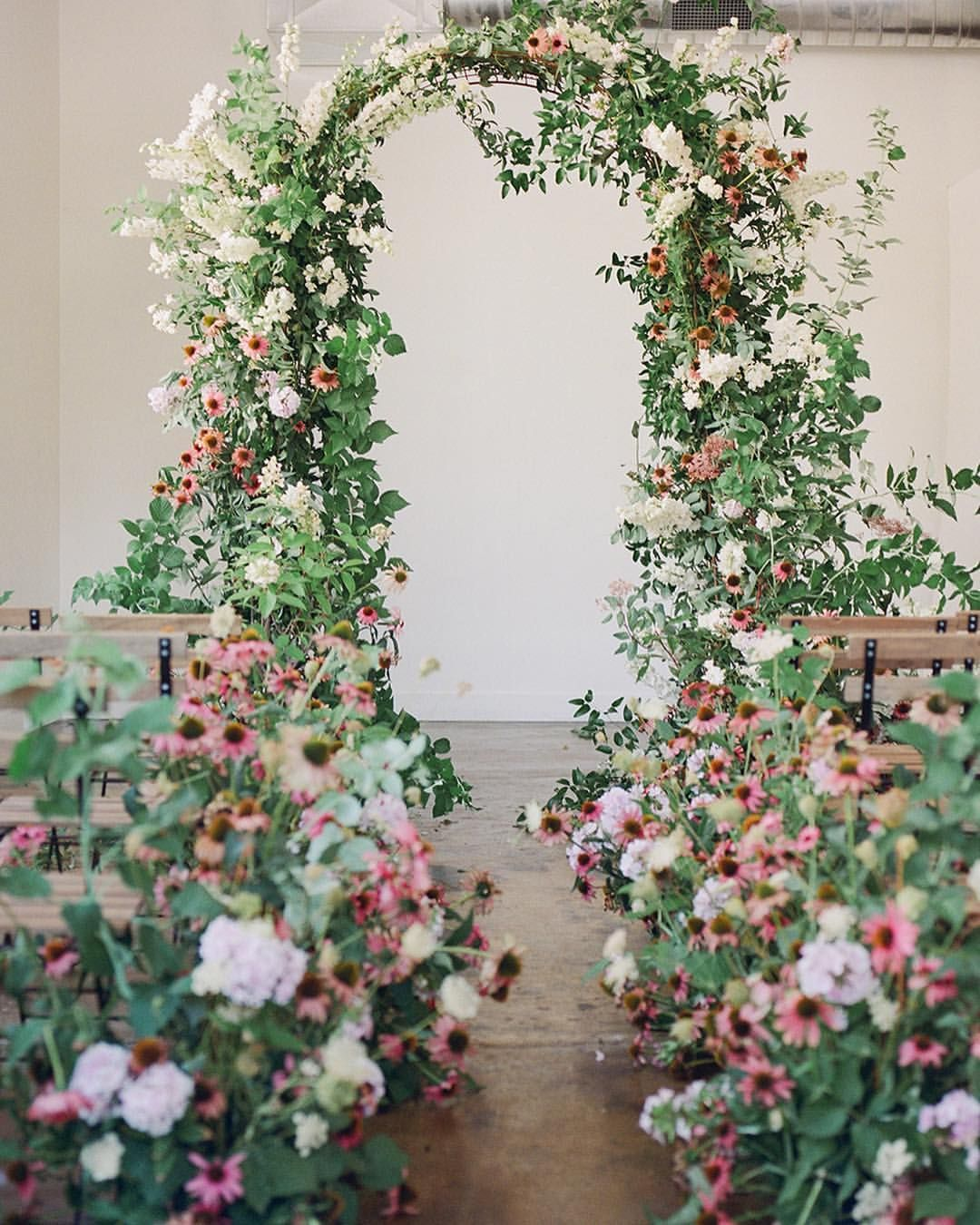 Flower Wall Wedding Altar: Pin By Pamela Holley On Ultimate Ceremony Designs