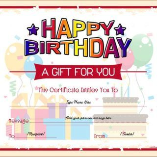 birthday gift certificate sample templates for word professional professional certificate templates