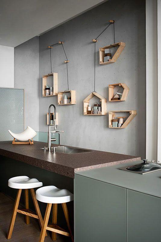 tolle idee f r ein regal durch die verbindung mit den. Black Bedroom Furniture Sets. Home Design Ideas