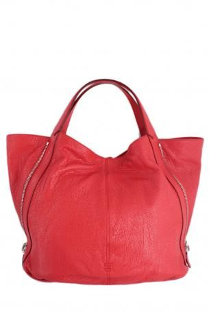 1a4f0c2f4270 Givenchy s Tinhan bag shopping red. Soft lamb hammered leather handbag red  color