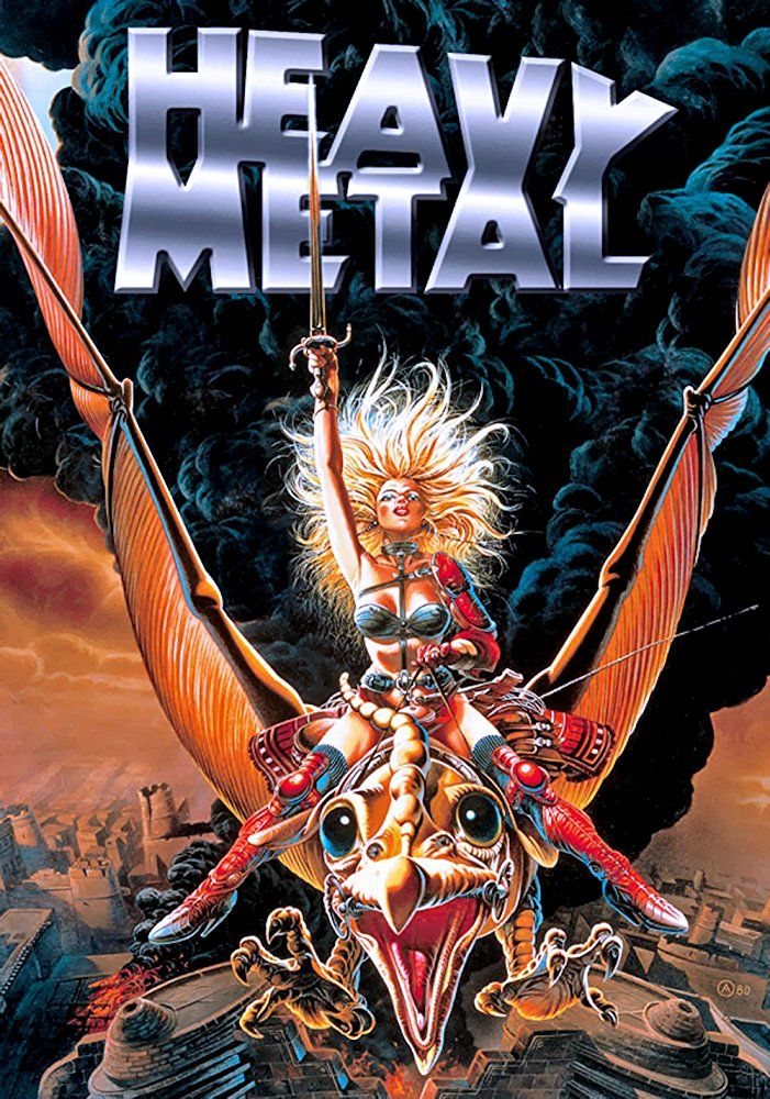 Heavy Metal 1981 Photo Gallery Imdb Heavy Metal Art Heavy Metal Comic Heavy Metal Movie