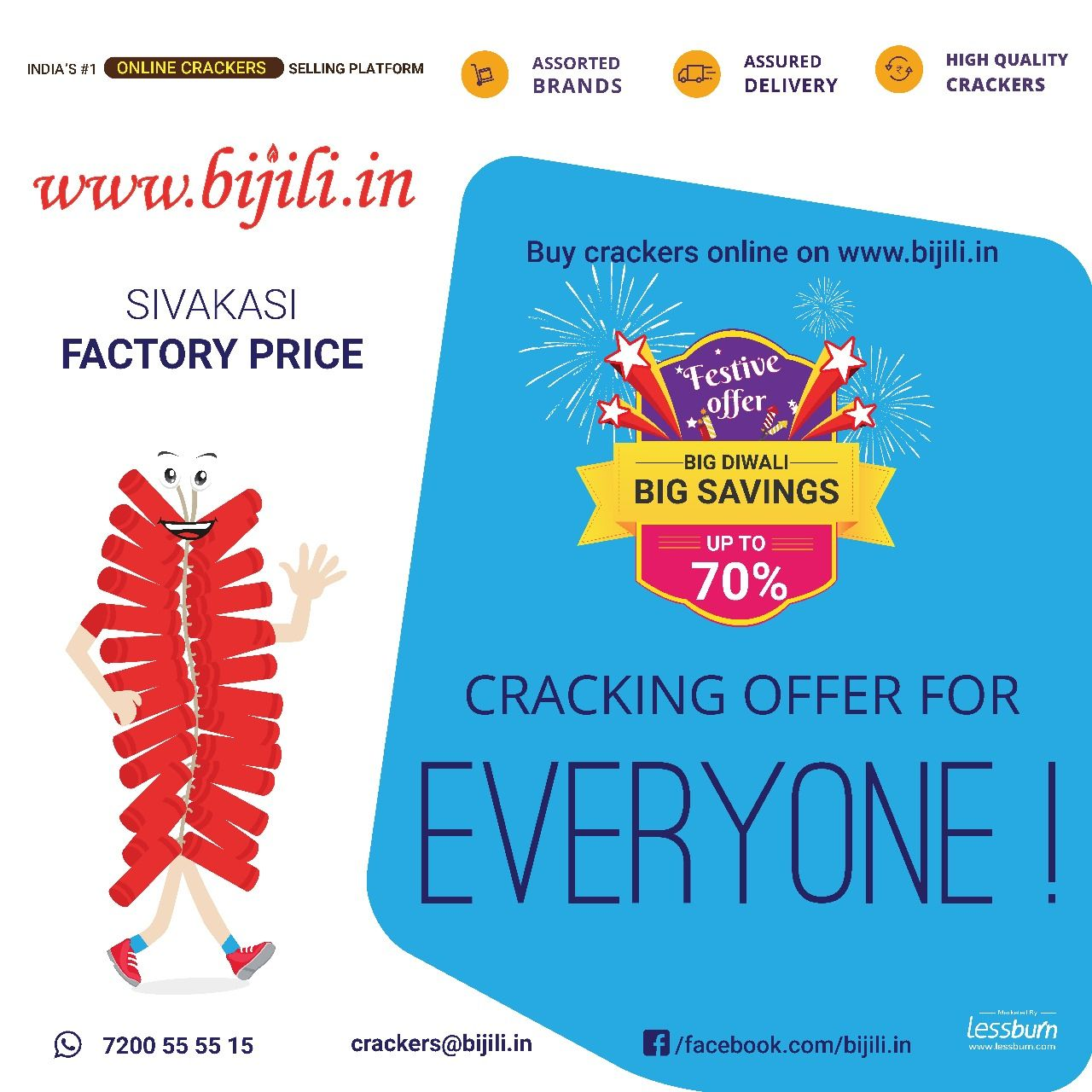 Buy Diwali Crackers Online Shopping from Sivakasi factory