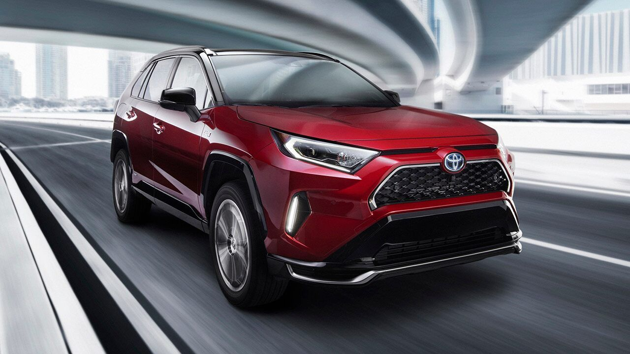 L A Auto Show The 2021 Toyota Rav4 Prime Is A Powerful Plug In Hybrid In 2020 Toyota Suv Toyota Toyota Rav4