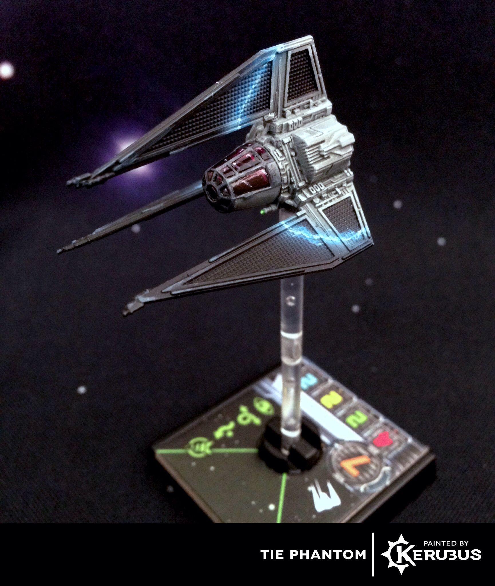 Tie Phantom X Wing Miniatures Star Wars Spaceships Star Wars Ships Design