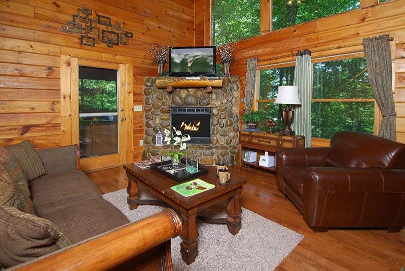 An Elegant Escape 1 Bedroom Cabin Rental Cheap Cabins Gatlinburg Cabins Gatlinburg Cabin Rentals