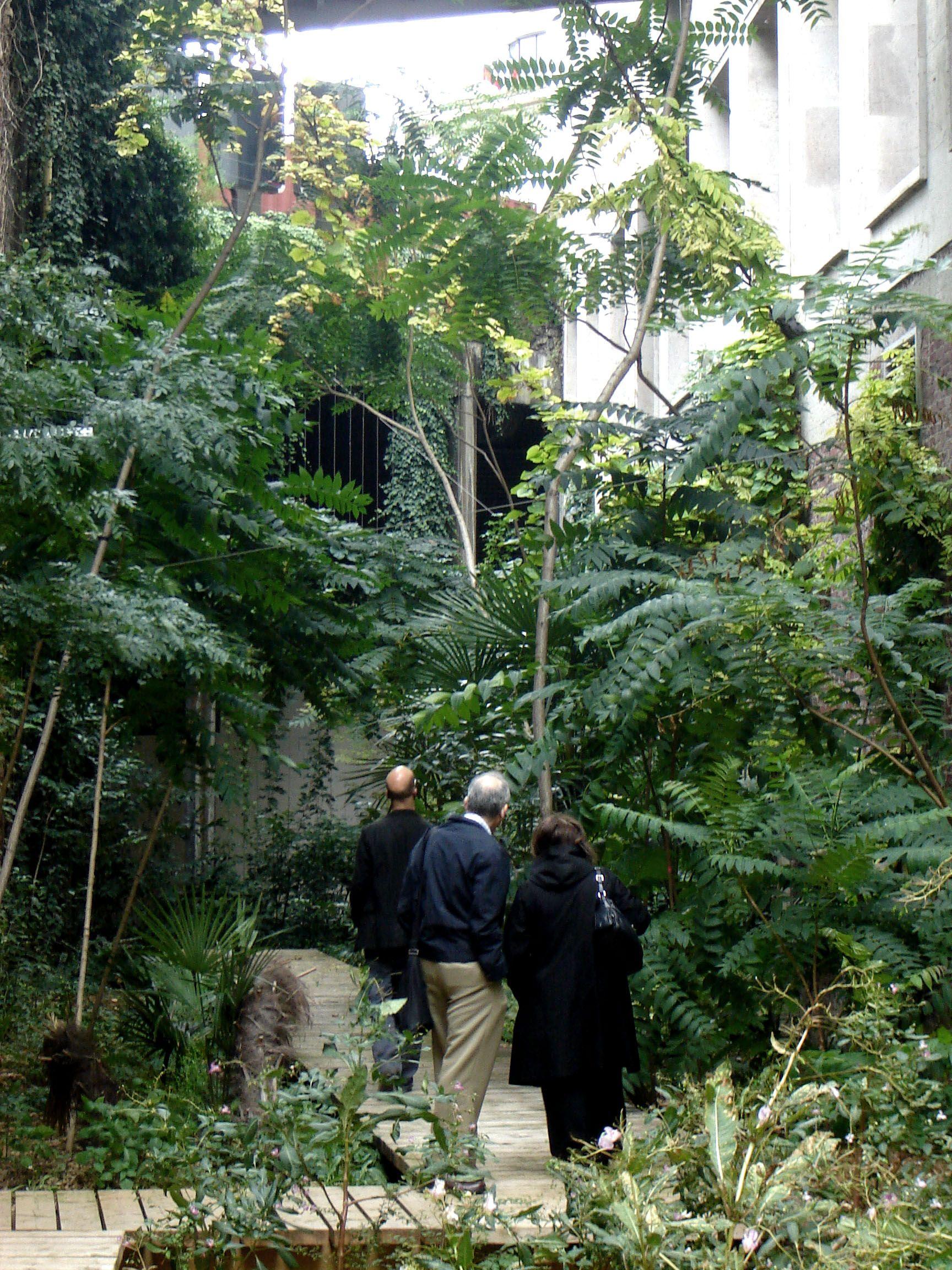 Le Jardin Sauvage Palais De Tokyo Paris By Atelier Le Balto