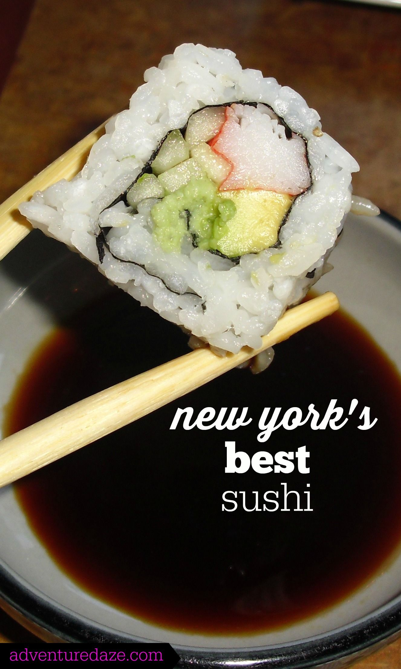 The Top 10 Best Sushi Restaurants In Nyc Best Sushi Foodie Travel Sushi Restaurants