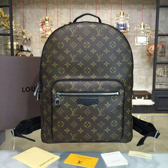 1fa78042700f Louis Vuitton M41530 Josh Backpack Monogram Macassar Canvas