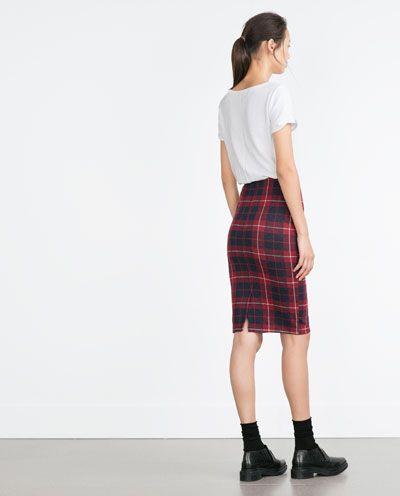 ternet nederdel // Z A R A (130kr.)