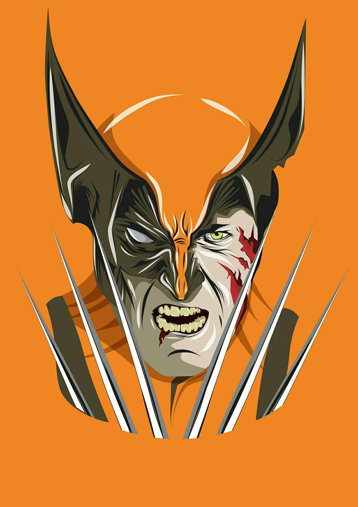 Pin By Melissa Rivera On Marvel Wolverine Logan Art Best Iphone Wallpapers Hero Wallpaper