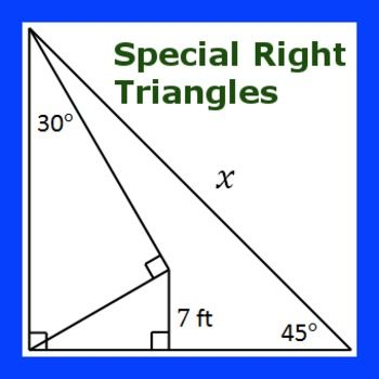 Multi-Step Special Right Triangles Practice I | Trig ...