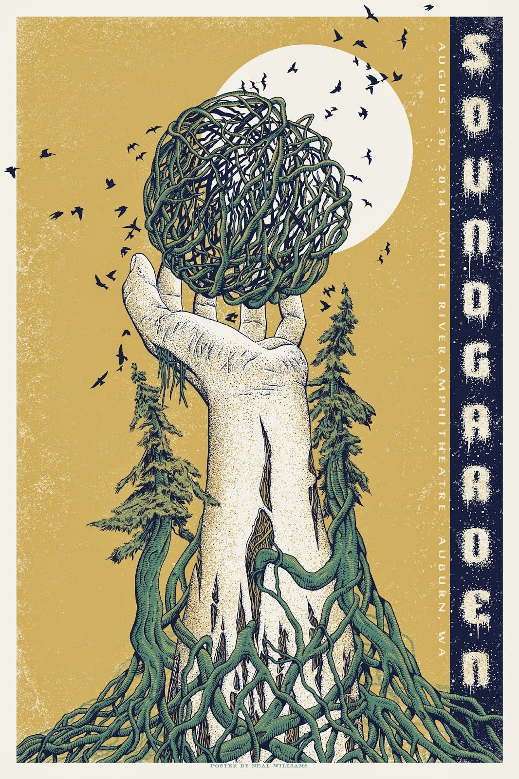 Soundgarden Neal Williams Posters & Ray LaMontagne plus Trampled By Turtles Release Details
