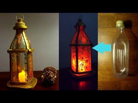 4901 Diy Lantern Using Plastic Bottle Ramadan Diy Youtube In