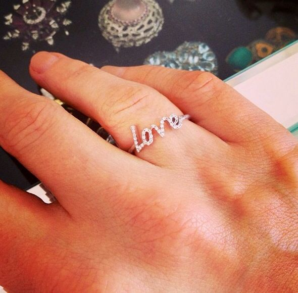 Jennifer Meyer Love Ring