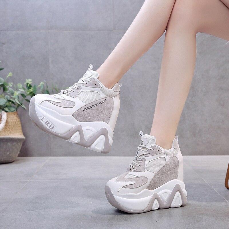 High heel sneakers, Sneaker heels