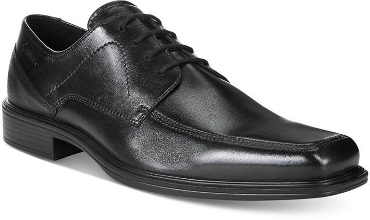 Selling Mens Ecco Johannesburg Goretex Lace up Shoe Black
