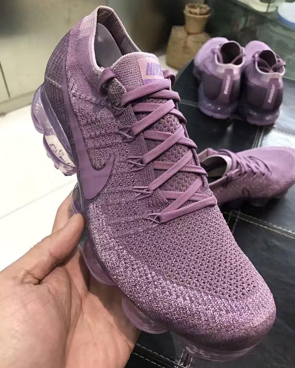 nike air vapormax flyknit mens purple