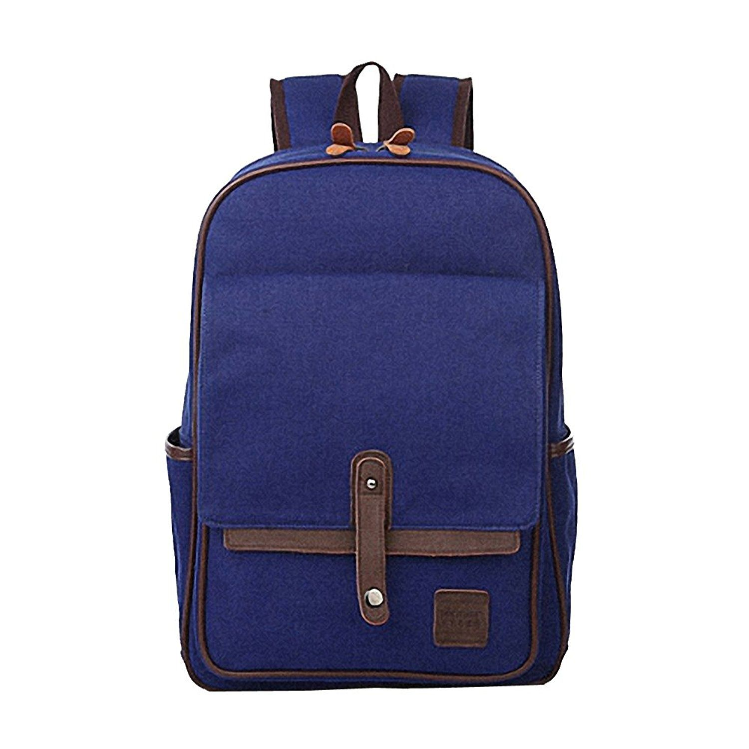 Canvas Backpack Casual Daypacks Fashion Girls Outdoor Travel Hiking Camping Bags