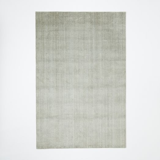 Hand Loomed Shine Rug Mountain Mist West Elm Possibility For Living Room Rugs Mood Board Living Room Rugs In Living Room