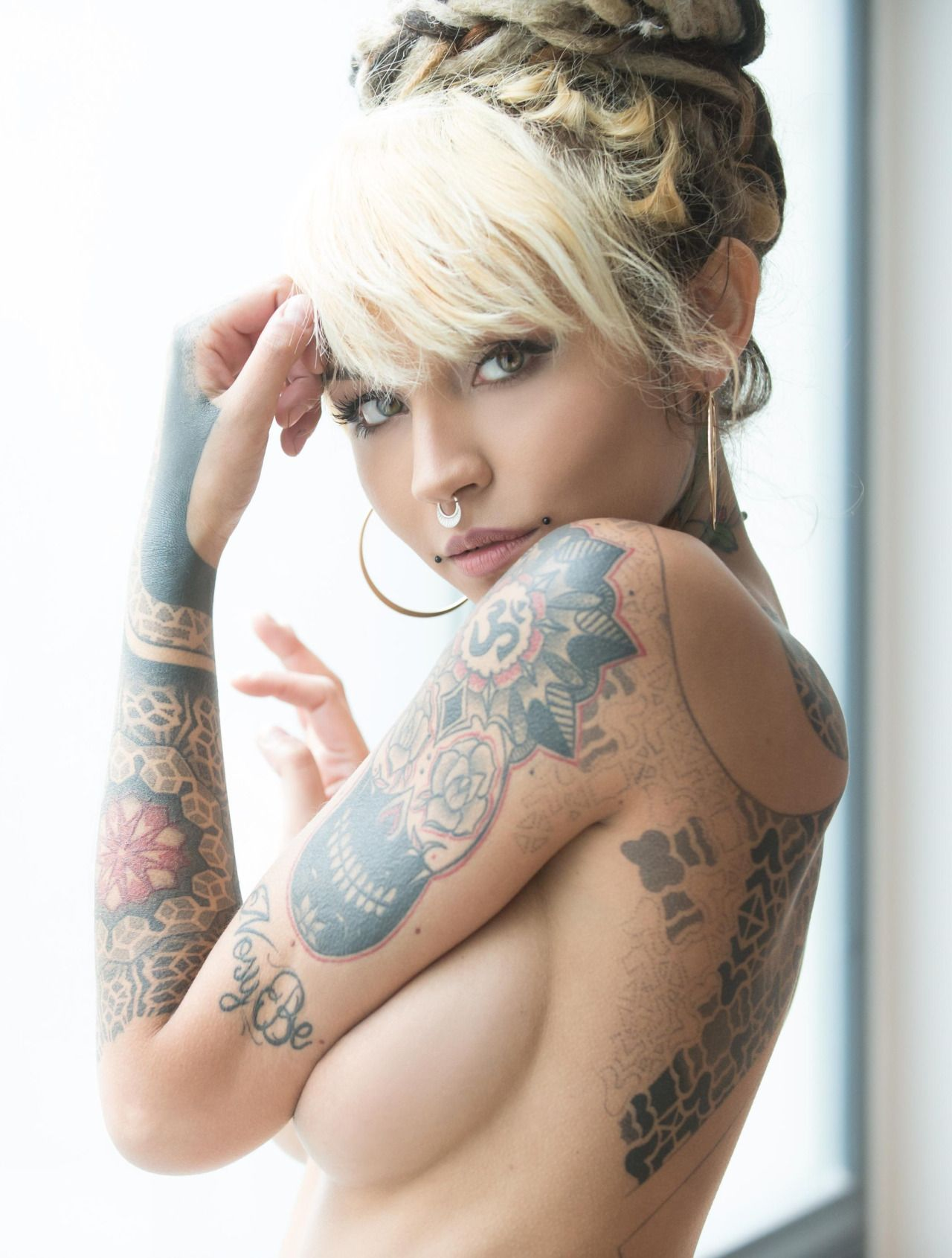 Fishball ink princess pinterest tattoo tatting and for Nude women tattoo
