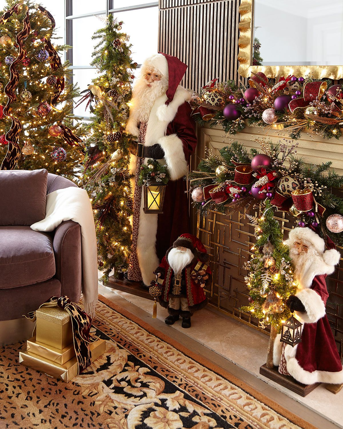 Plum Garden Christmas Eve 2020 Ditz Designs By The Hen House Plum Wine Holiday White Santa with