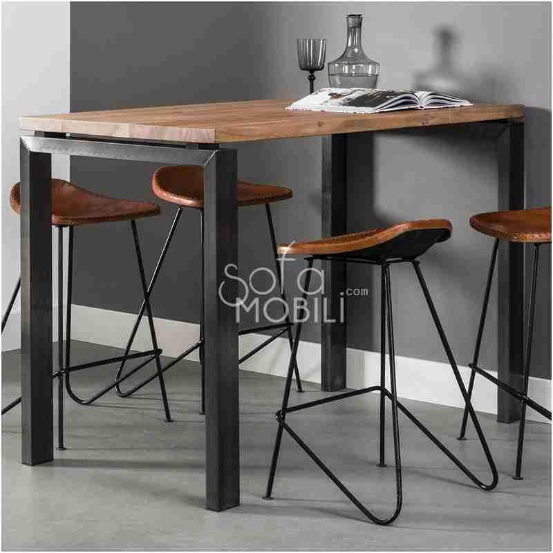 52 Qualite Table Bar En Bois Table Haute Cuisine Table Haute