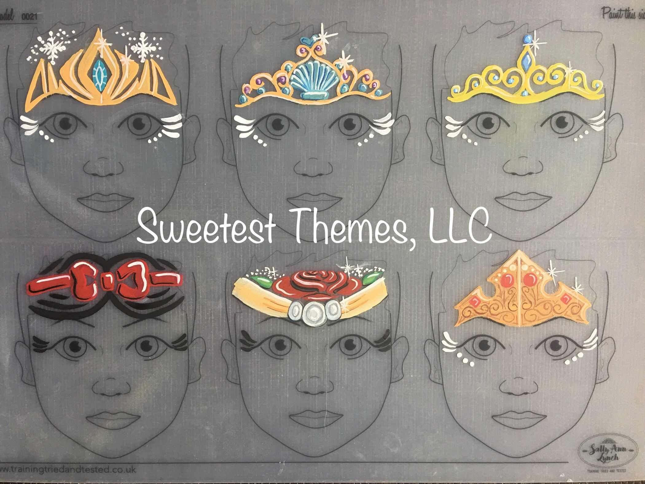 Princess Crown Face Painting Practice Board Face Painting Princess Face Painting Face Painting Designs No ring, maps and no uvw mapping is available. pinterest