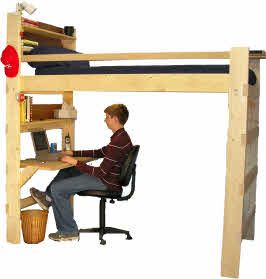 Dorm Loft Bed Kits We Re Building A House College Loft Beds