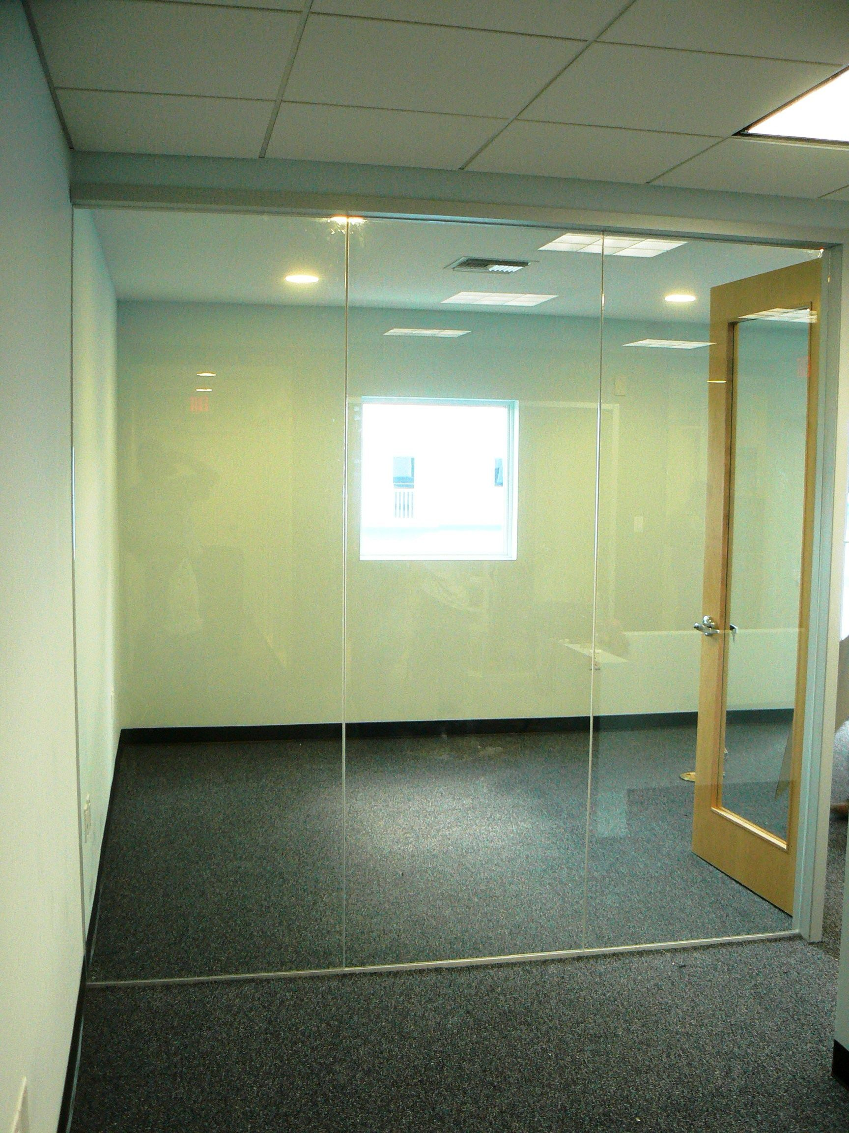 Interior Frameless Glass Wall | Cayman Commercial Storefronts: Sales ...
