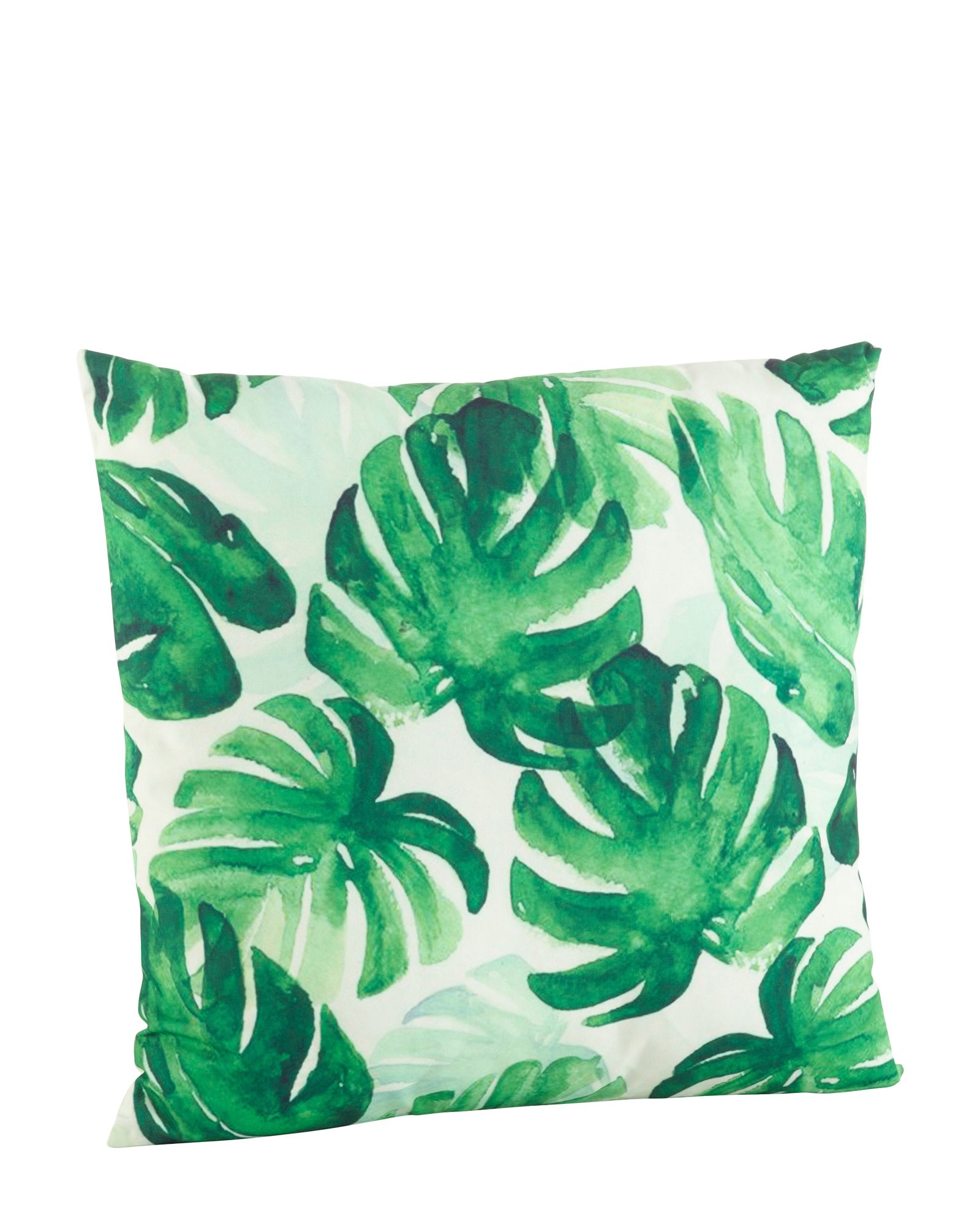 S Lifestyle Leaf Print Decorative Pillow