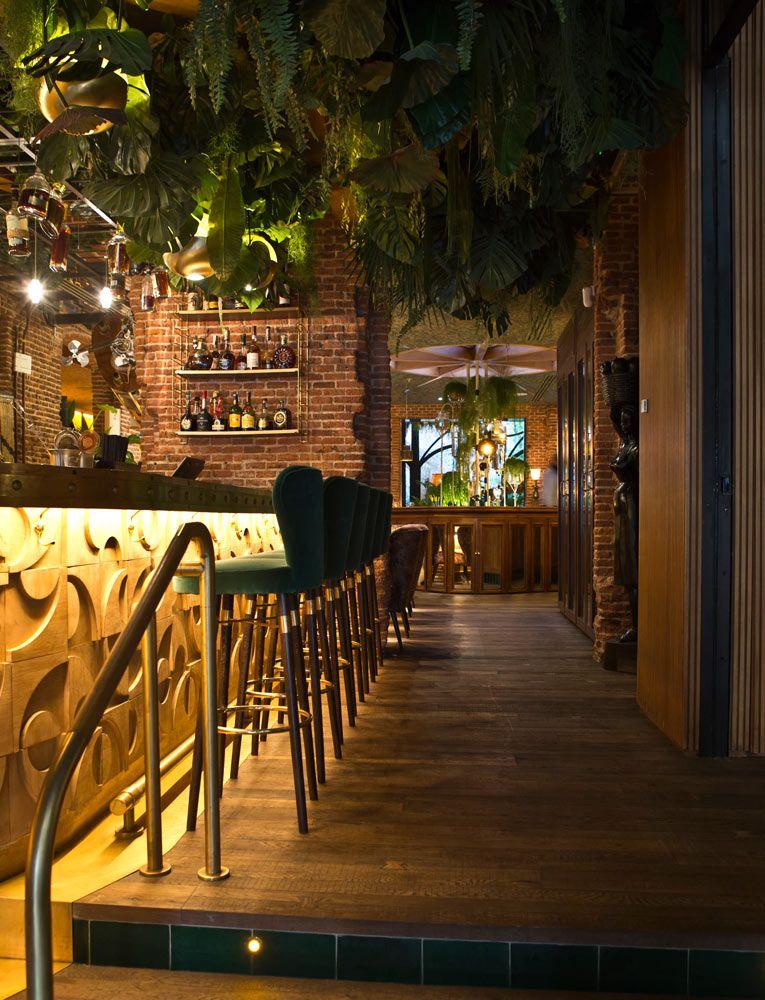 Amazonico ristorante amazonico bar madrid spagna for Blog decorazione interni
