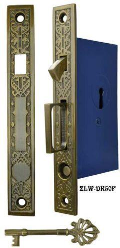 Single Pocket Door Mortise Lock Set Zlw 50f Pocket Doors