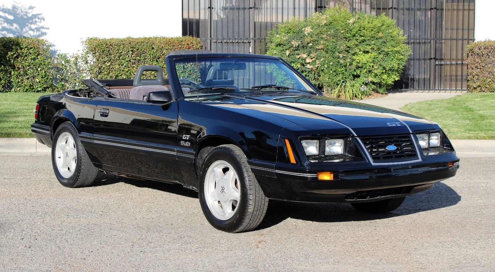 Ebay 1984 Ford Mustang Gt Convertible 5 0 5 Spd One Owner Runs A California Original 1984 Mustang Gt Ford Mustang Convertible Ford Mustang Gt Mustang Gt
