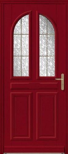 porte bois porte entree bel 39 m classique poignee plaque couleur laiton mi vitree double. Black Bedroom Furniture Sets. Home Design Ideas