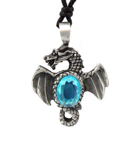 Mystical magical pewter light blue air dragon pagan celtic magical mystical magical pewter light blue air dragon pagan celtic magical wisdom pendant aloadofball Choice Image