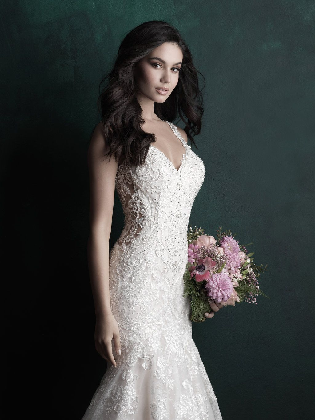 Designer lace wedding dresses  Pin by Andrea Parsons on wedding dresses in   Pinterest  Lace
