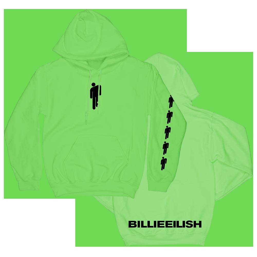 02f2e915c79 Green Hoodie. Green Hoodie Billie Eilish ...