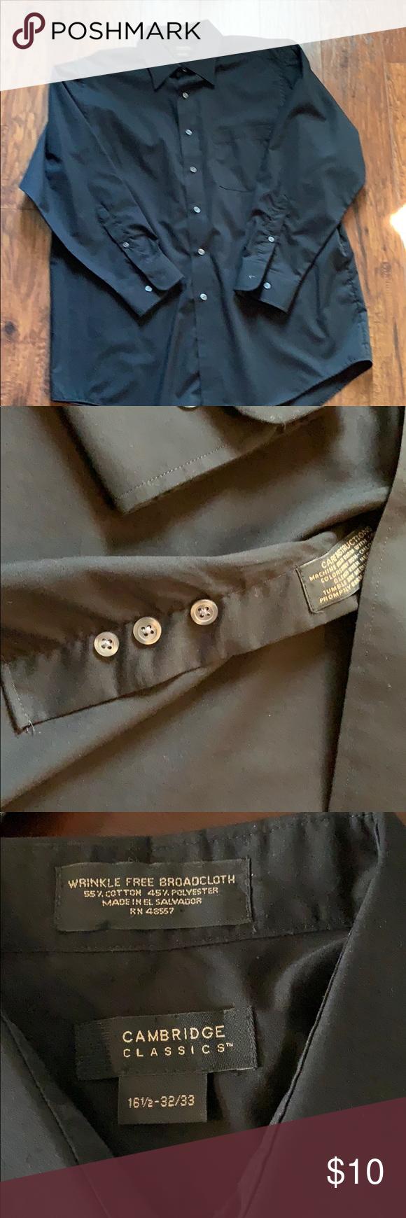 Men S Black Dress Shirt Black Dress Shirt Men Black Shirt Dress Shirts [ 1740 x 580 Pixel ]