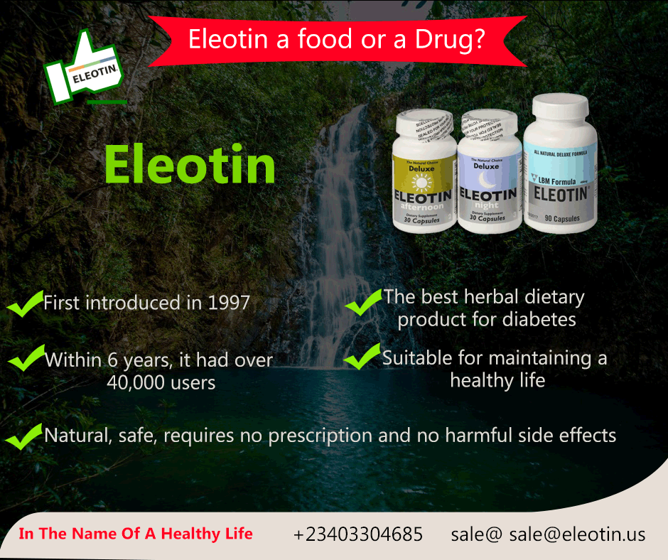eleotina para diabetes