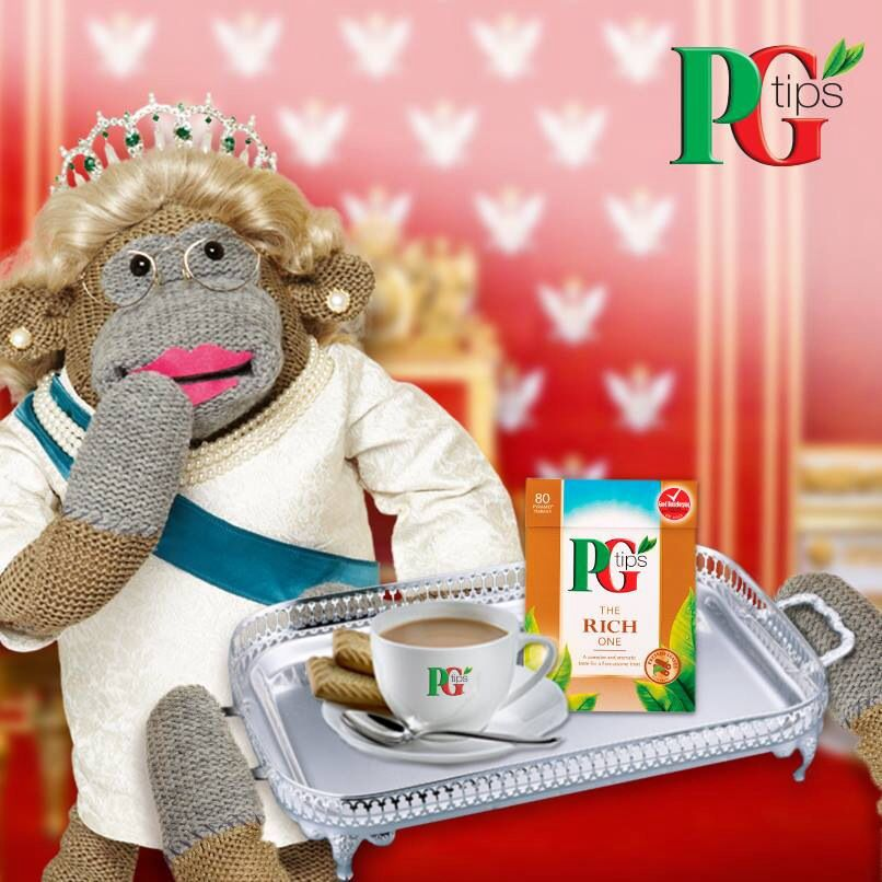 PG TIPS: Encounters with Monkey. | Pg tips, Mad hatter tea ...  |Monkeys Mad Hatter
