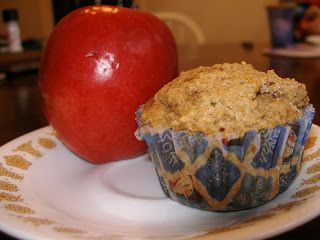 A Nest in the Rocks: Applesauce Muffins